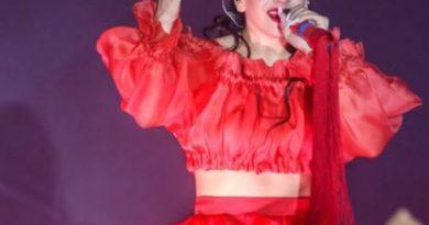 Rosalia en concierto de Halloween