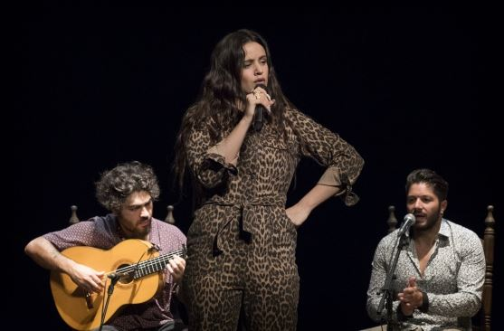 Rosalía en la Bienal de Sevilla