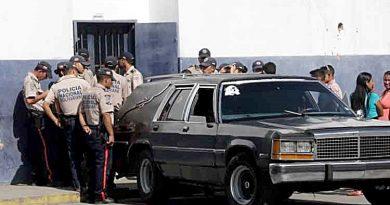 Con granadas los delincuentes repelieron a la Policía Nacional Bolivariana