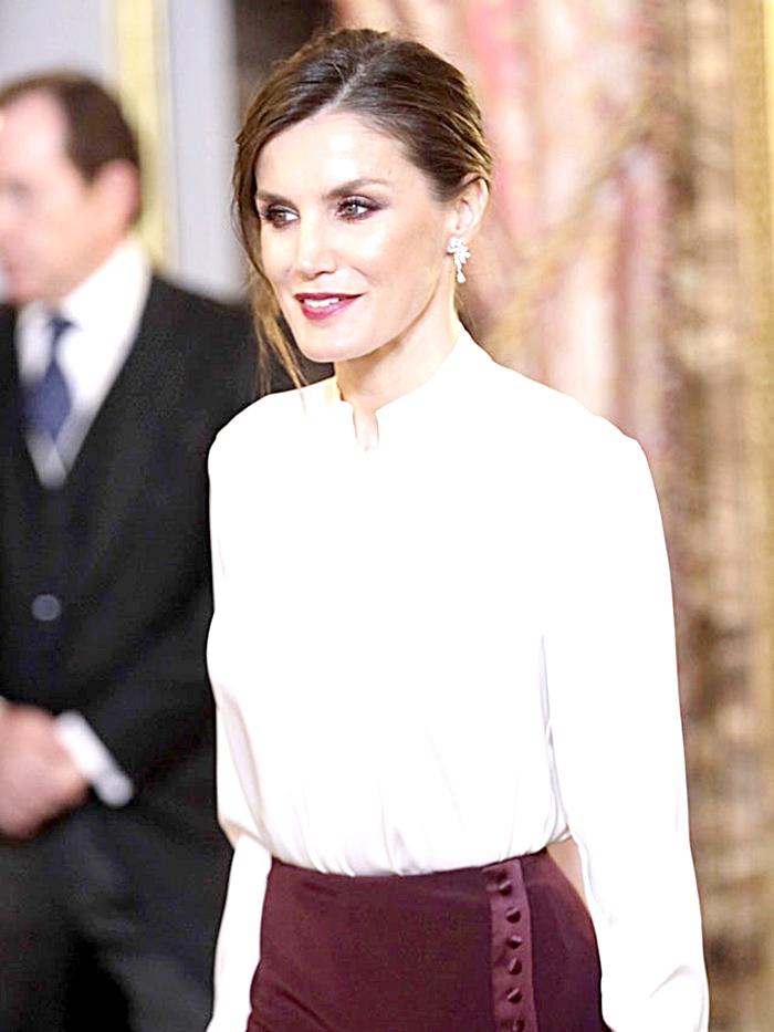 Sin duda la Reina Letizia es una mujer con clase y estilo marcado