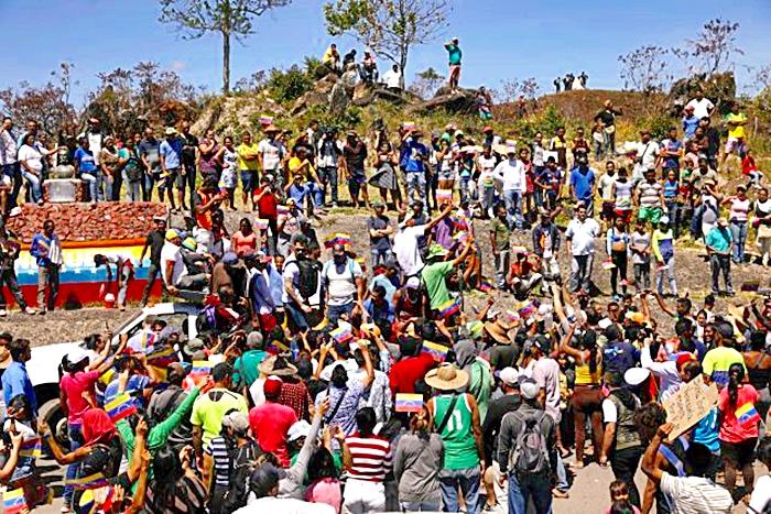 Personas fueron abaleadas causándoles la muerte, por parte de organismos de seguridad de Venezuela