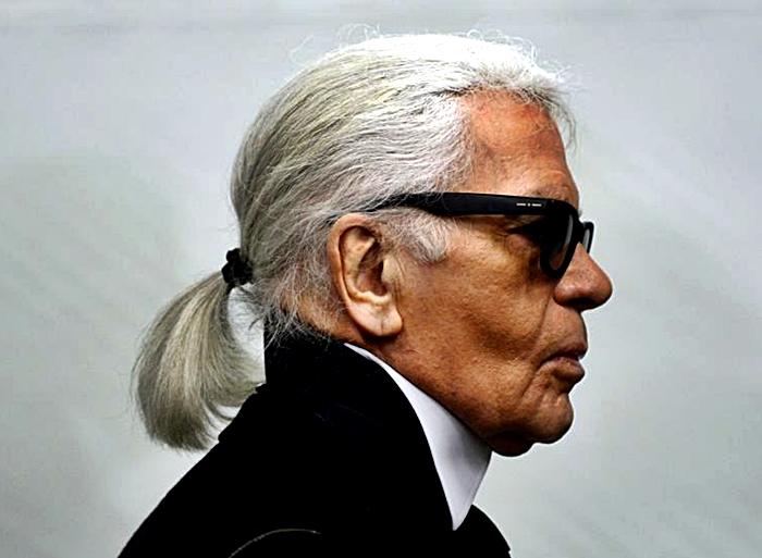 Karl Lagerfeld admirado y temido