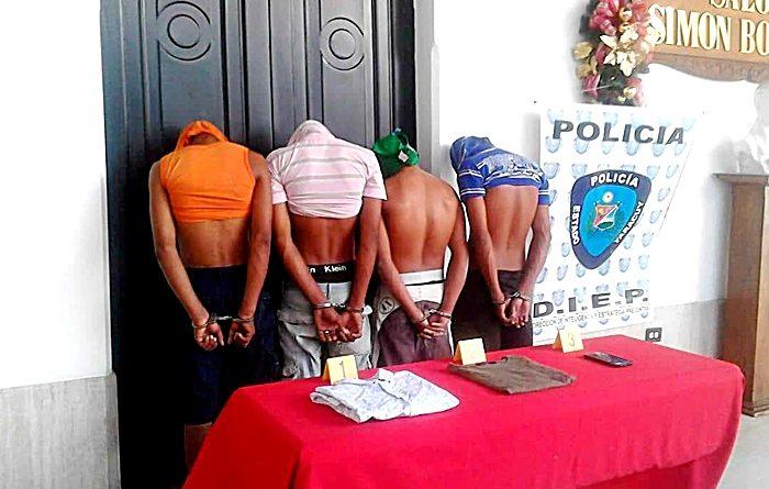 Cuatro los acusados e imputados