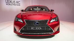 Características del Lexus RC 300h 2019