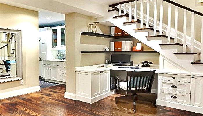Aprovechemos los pequeños espacios para despejar la casa