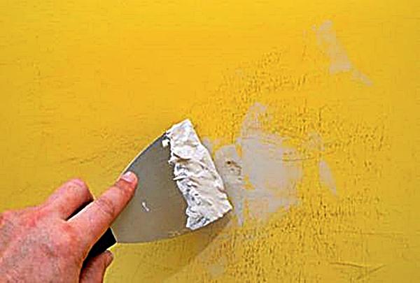 Lavar las paredes facilita la adherencia de la pintura