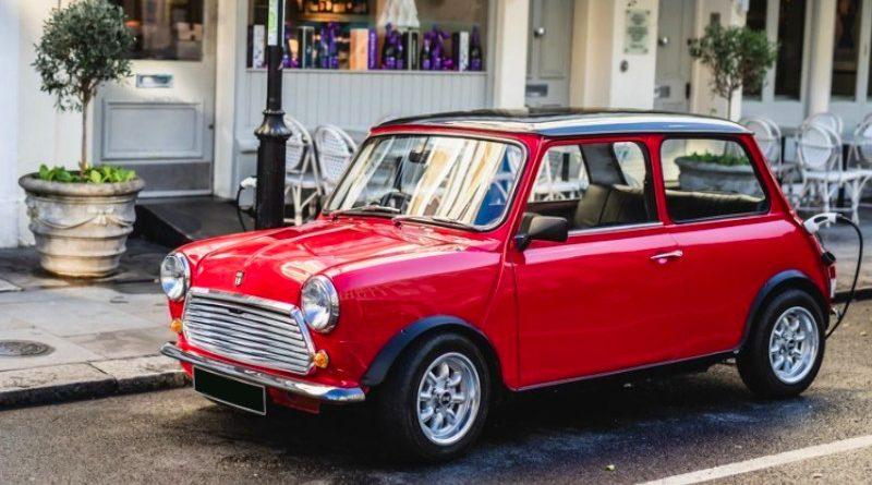 Un clásico Mini convertido en un coche 100% eléctrico