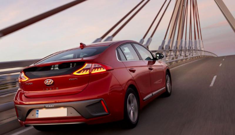 El Hyundai Ioniq en versión eléctrica