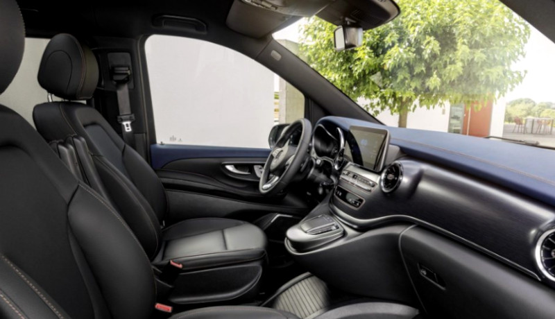 Mercedes-Benz EQV. monovolumen eléctrico
