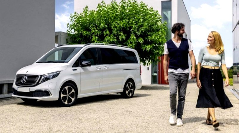 El EQV: Un nuevo monovolumen eléctrico de Mercedes-Benz