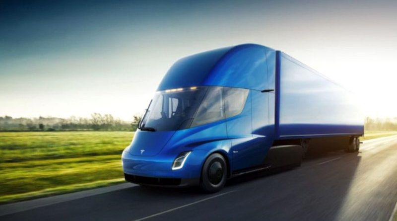 Conoce el nuevo camión eléctrico de Tesla